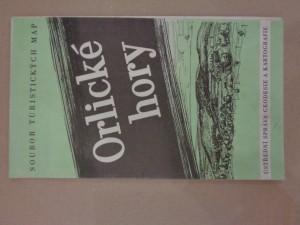 náhled knihy - Orlické hory: soubor turistických map