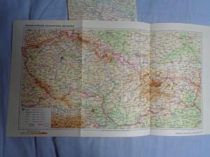 náhled knihy - Československá socialistická republika, přehledná politická mapa světa