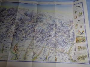 náhled knihy - Krokonoše - zimní pohledová mapa