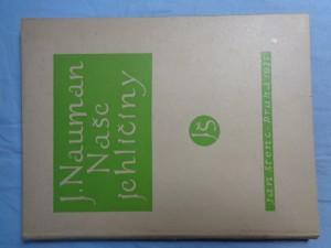 náhled knihy - Naše jehličiny : Sedmdesátosm reprodukcí fotografií všech druhů chvojin, rostoucích původně v republice Československé