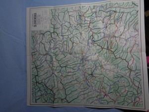 náhled knihy - Turistická mapa severozápadného Slovenska