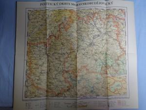 náhled knihy - Politický okres Moravskobudějovický