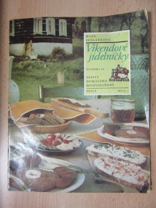 náhled knihy - Víkendové jídelníčky