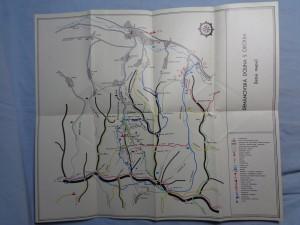 náhled knihy - Demänovská dolina s okolím (letná mapa), Demänovská dolina, oblasť Jasná - Chopok (zimná mapa)