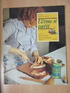 náhled knihy - Učíme se vařit