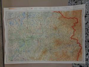 náhled knihy - Fastrova mapa Šumavy I. - Českobudějovicko - Č. Krumlovsko - Kaplicko