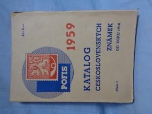 náhled knihy - Katalog československých známek od roku 1918