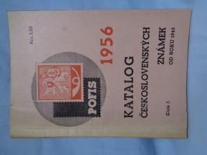náhled knihy - Katalog československých známek od roku 1945. Čís. 1, 1956 195
