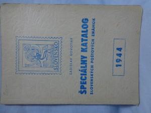 náhled knihy - Špeciálny katalog slovenských poštových známok