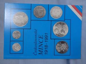 náhled knihy - Československé mince 1918-1991 : soupis soukromé sbírky
