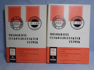 náhled knihy - Monografie československých známek. díl XVI. svazek I.-II. (2sv.)