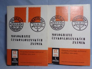 náhled knihy - Monografie československých známek. díl XVII. svazek I.-II. (2sv.)