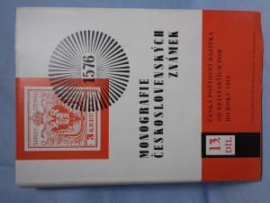 náhled knihy - Monografie československých známek. díl XII