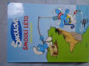 náhled knihy - Šmoulí léto : hrací sešit