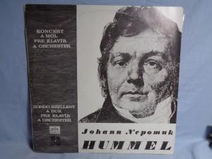 náhled knihy - LP JOHANN NEPOMUK HUMMEL - KONCERT A-MOLL A RONDO BRILLANT A-DUR PRO KLAVÍR A ORCHESTR