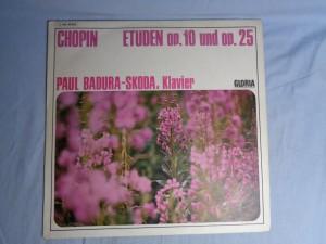 náhled knihy - Chopin* – Paul Badura-Skoda – Etüden Op. 10 Und Op. 25
