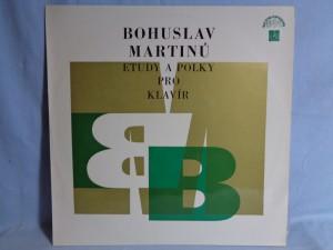 náhled knihy - Bohuslav Martinů – Etudy A Polky Pro Klavír