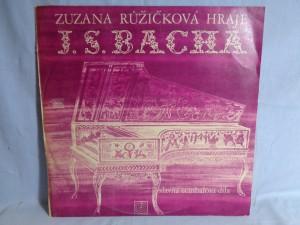 náhled knihy - Zuzana Růžičková Hraje J. S. Bacha / Slavná Cembalová Díla