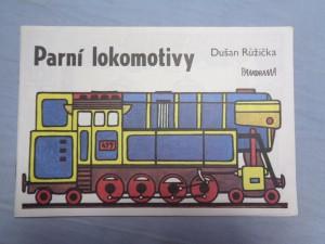 náhled knihy - Parní lokomitivy