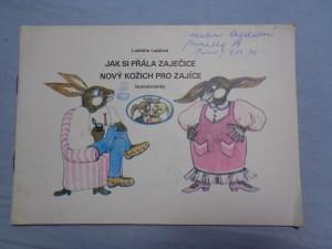 náhled knihy - Jak si přála zaječice nový kožich pro zajíce: domalovánky