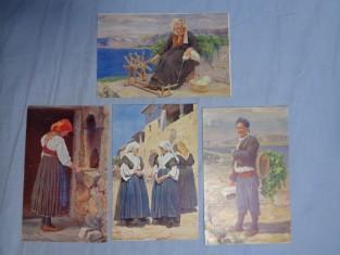náhled knihy - Rakousko-Uher. typy lidové. Serie XVIII. Istria, Cres