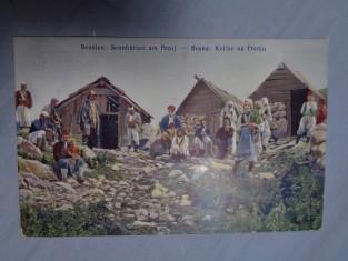náhled knihy - Bosnien: Sennhütten am Prenj. - Bosna: Kolibe na Prenju.