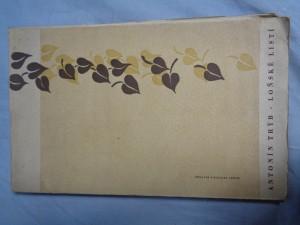 náhled knihy - Loňské Listí (podpis)