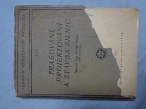 náhled knihy - Trasování, projektování a stavba silnic