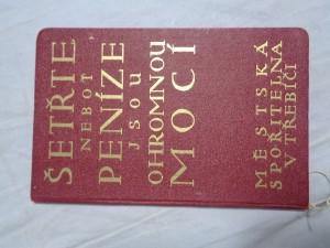náhled knihy - Spořitelní knížka (Městská spořitelna v Třebíči)