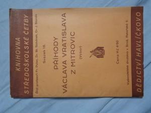 náhled knihy - Příhody Václava Vratislava z Mitrovic