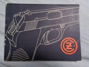 náhled knihy - Samočinná pistole ČZ, ráže 7,65mm, VZOR 50