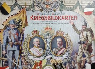 náhled knihy - Offizielles Album für Kriegsbildkarten