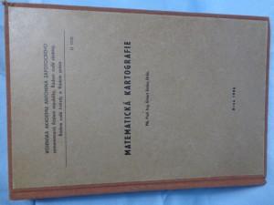 náhled knihy - Matematická kartografie