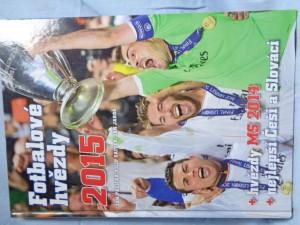 náhled knihy - Fotbalové hvězdy 2015