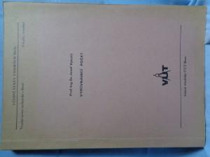 náhled knihy - Vyrovnávací počet : Určeno pro posl. fak. stavební