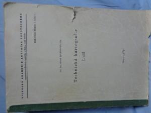 náhled knihy - Technická kartografie I. díl