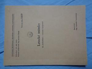 náhled knihy - Letecké snímky (k přednáškám z vojenské topografie)