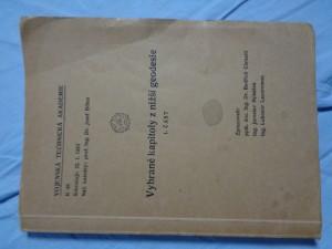 náhled knihy - Vybrané kapitoly z nižší geodesie 1. část