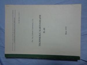 náhled knihy - Technická kartografie. 2. díl