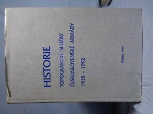 náhled knihy - Historie topografické sližby československé armády 1918-1992