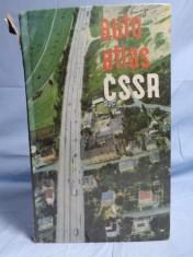 náhled knihy - Auto atlas ČSSR. 1:400 000