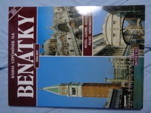 náhled knihy - Kniha vzpomínek na Benátky
