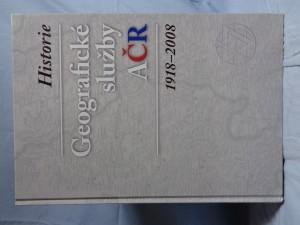 náhled knihy - Historie Geografické služby AČR: 1918-2008 Geografické služby AČR Geografické služby AČR 1918-200