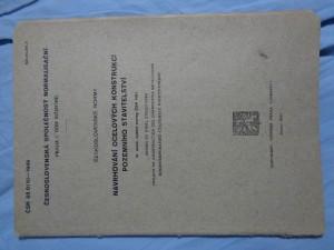 náhled knihy - Navrhování ocelových konstrukcí pozemního stavitelství = Design of steel structures = Projets de construction des charpentes métalliques = Proektirovanie stal'n'ych konstrukcij: ČSN 05 0110-1949