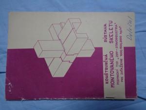 náhled knihy - Konštrukčná sústava montovaného skeletu: podnikový typ ZIPP-STAVOINDUSTRIA