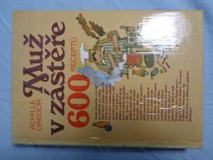 náhled knihy - Muž v zástěře : 600 receptů