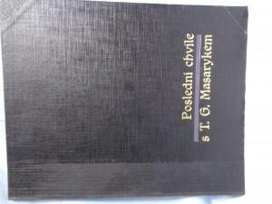 náhled knihy - Poslední chvíle s T. G. Masarykem