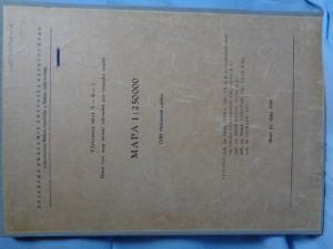 náhled knihy - Výzkumný úkol X-B-1 Nové typy map určené výhradně pro vojenské užití