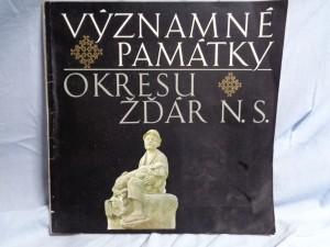 náhled knihy - Významné památky okresu Žďár nad Sázavou