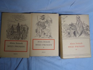 náhled knihy - Mezi proudy : tři historické obrazy